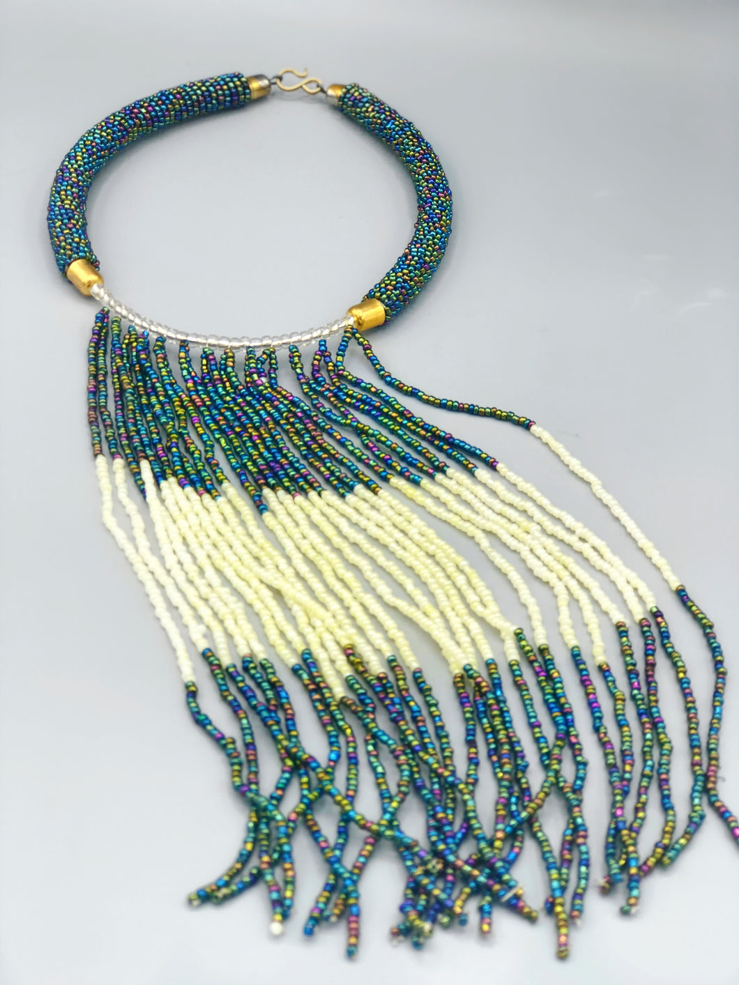 Traditional African Beaded Necklace