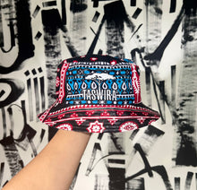 Load image into Gallery viewer, SUSTAINABLE BUCKET HAT AFRICAN BANDANA