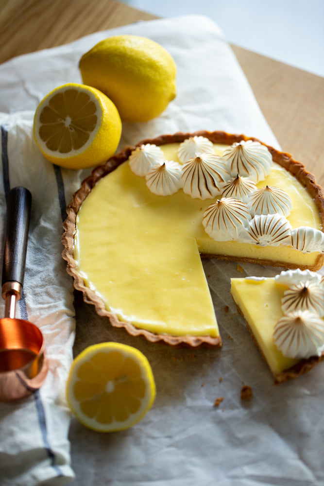 Citrusy Lemon Meringue Tart