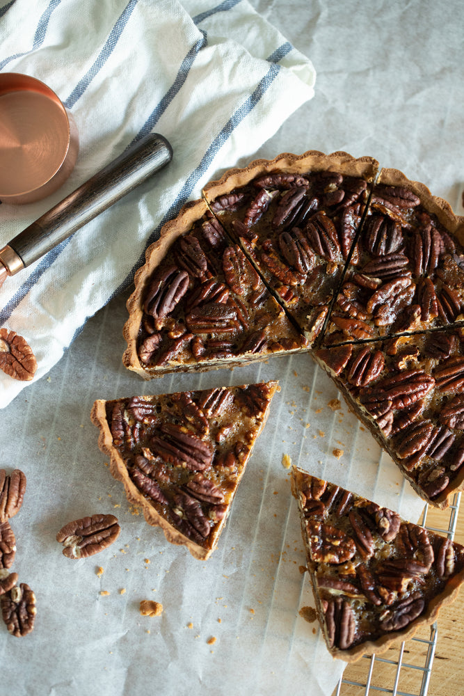 Caramelized Maple Pecan Tart