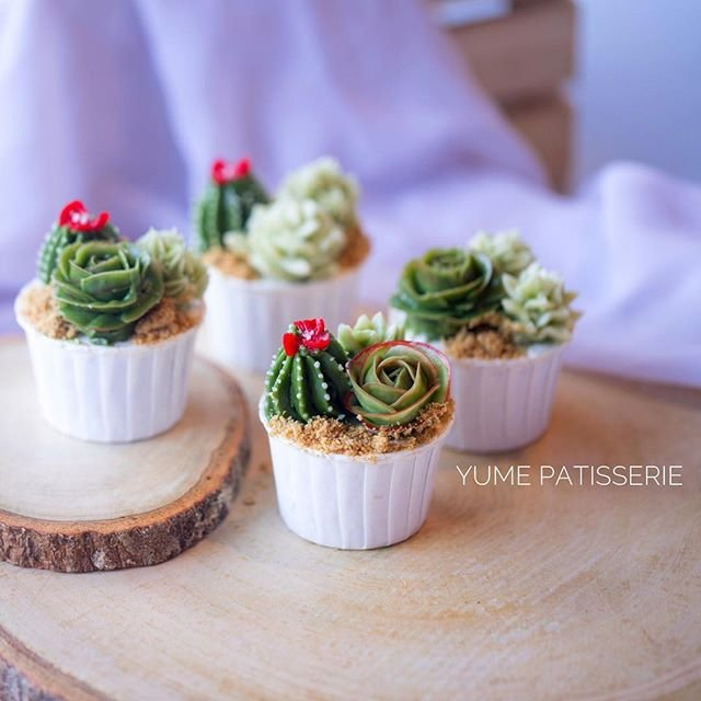 Load image into Gallery viewer, Terrarium Cupcakes (Box of 6)