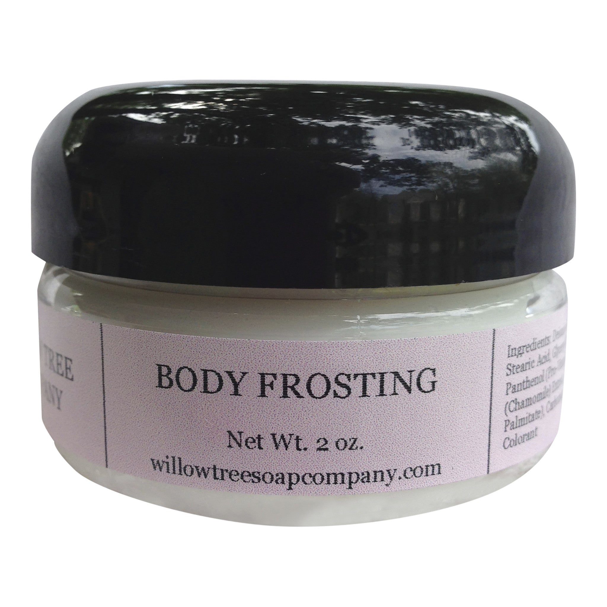 Body Frosting, Unscented, 2 ounces