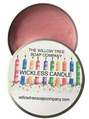 Wickless Candle