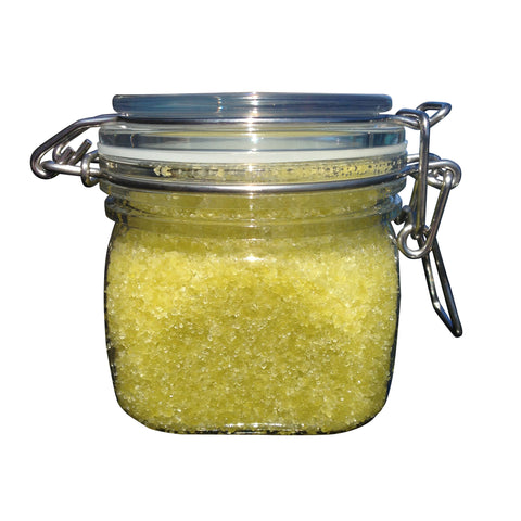 Hemp Sea Salt Scrub - 100% Natural