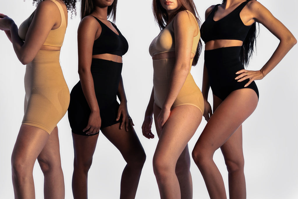 Pack 2 Slimming Shorty + 2 Slimming Panty Slimiies™