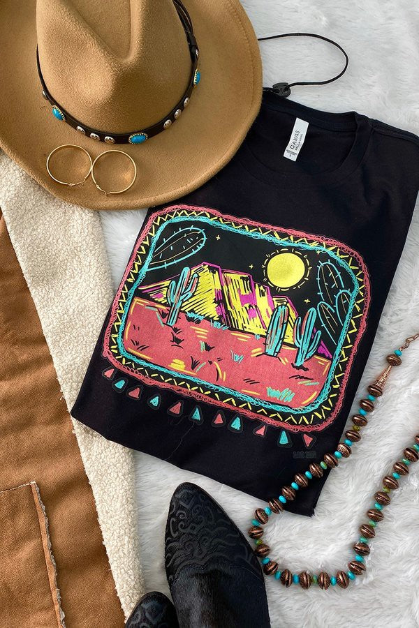 The Neon Desert | Graphic Tee
