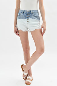 High Rise Ombre Shorts