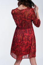 Load image into Gallery viewer, The Red Paisley | Dress