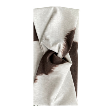 The Cowhide   Cotton Spandex Patterned Headband