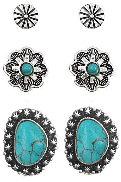 The Concho Set | Earrings