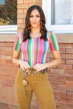 Load image into Gallery viewer, Serape Short Sleeve Bodysuit
