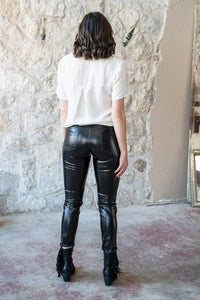 The Moda | Faux Leather Pants