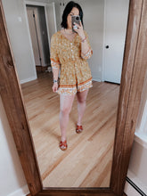 Load image into Gallery viewer, The Tezza in Yellow | Romper