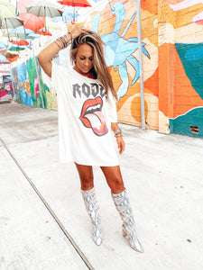 The Gina | Boyfriend Tee Dress