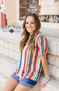 West Bound Serape | Top