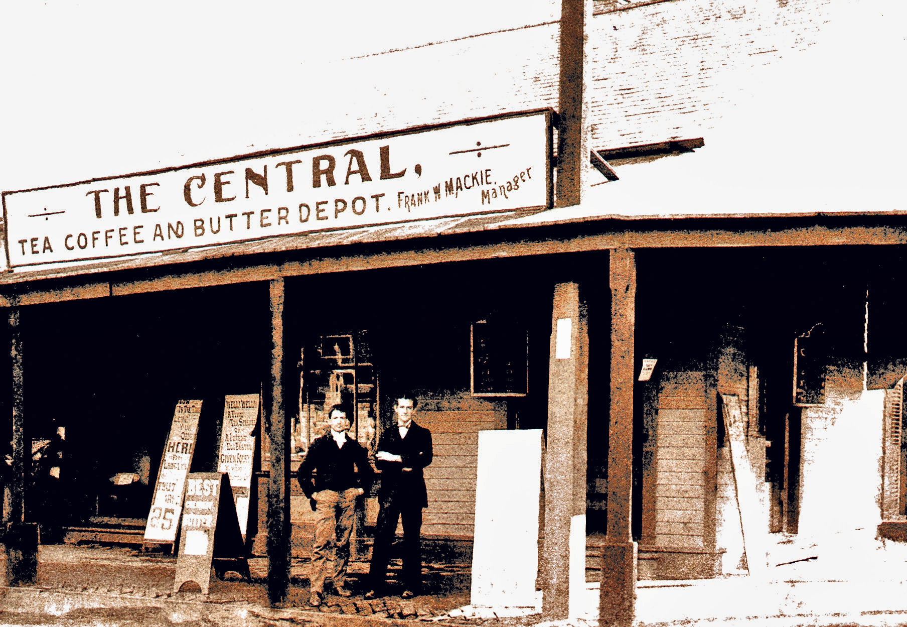 Central Coffee and Butter depot building