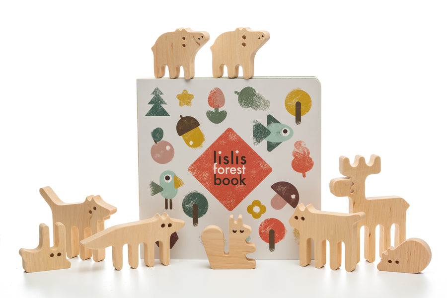 ANIMALS BALANCE TOY - gift set