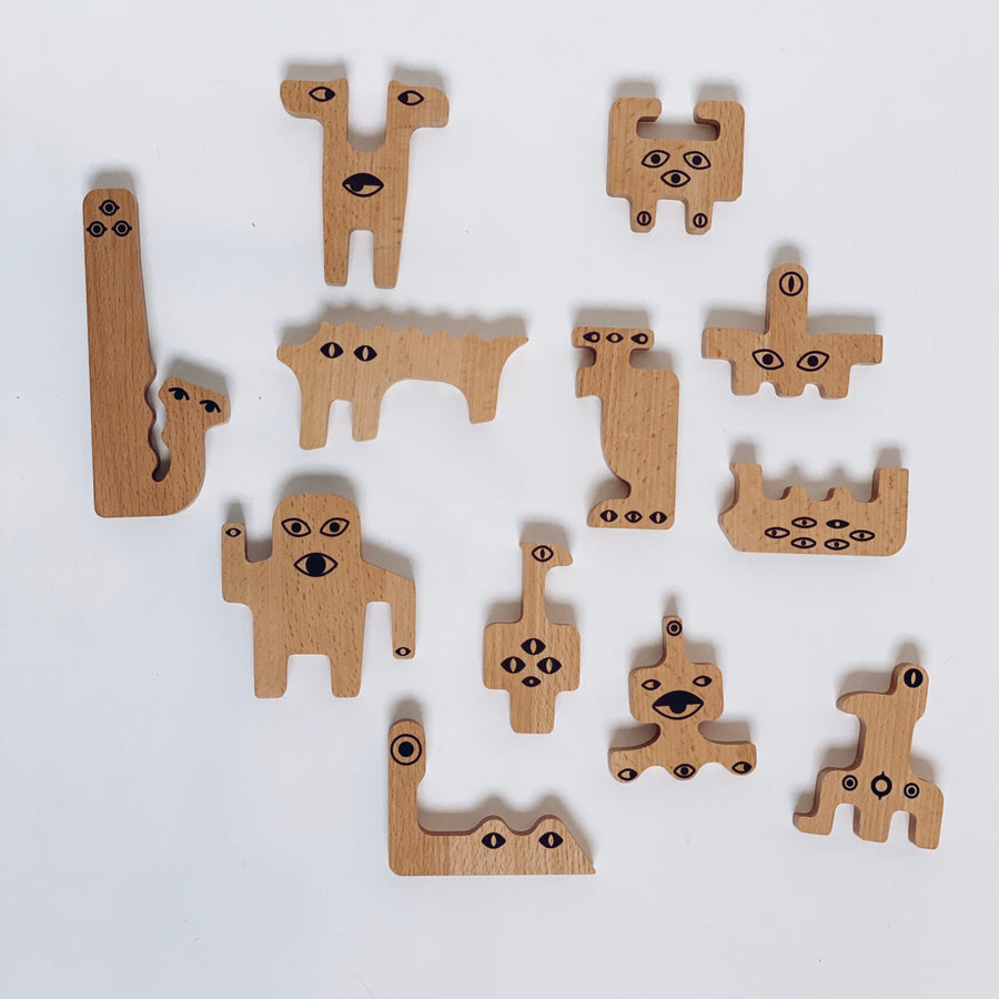 PUZZEL - Friendly monsters