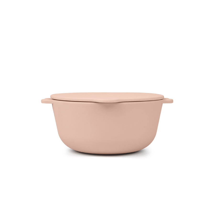 BOWL 2-PACK - blush & feather grey