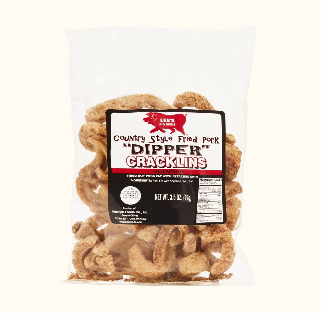 Fried Pork Dipper Cracklins