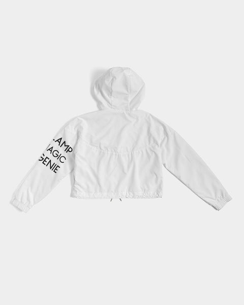 'September 8th' Women's Cropped Windbreaker