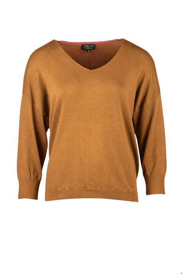 sweater bamboe kleur toffee zilch