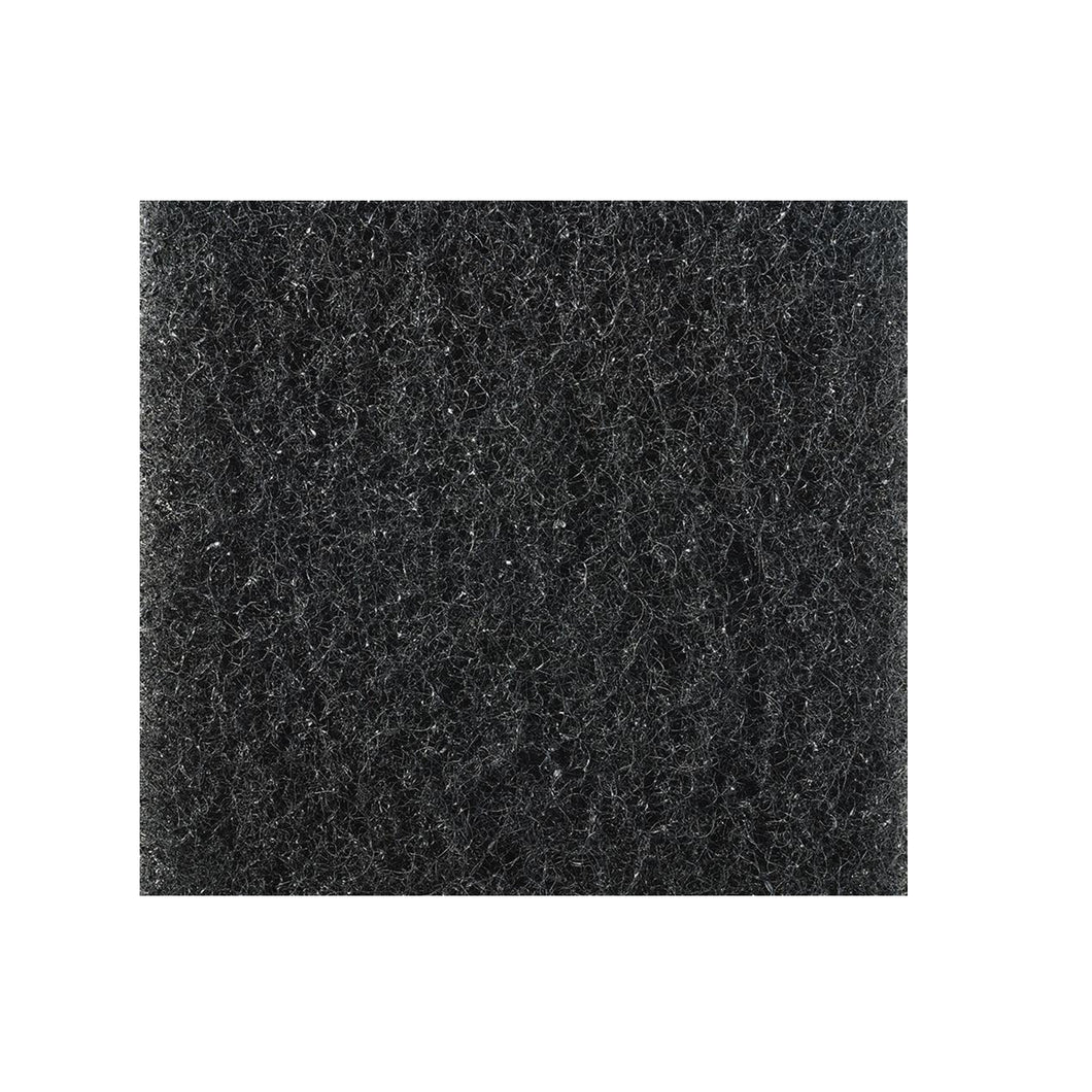 Poly-Flo Filter Media- Black - 1 in. thick Custom Cut Sizes