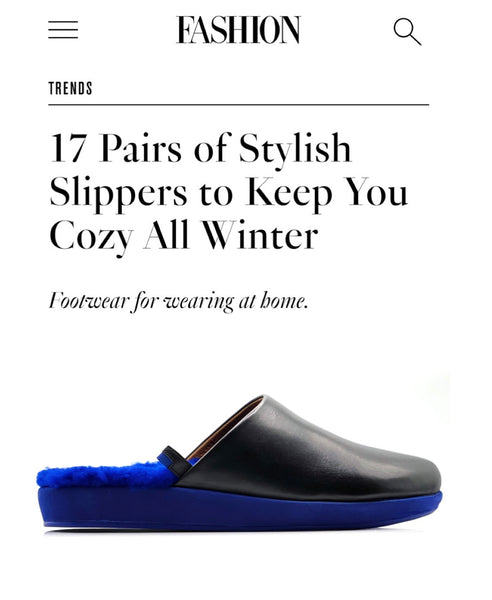 17 Pairs of Stylish Slippers to Keep You Cozy All Winter