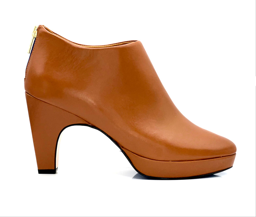 dr. Liza bootie 2.0 - CARAMELO