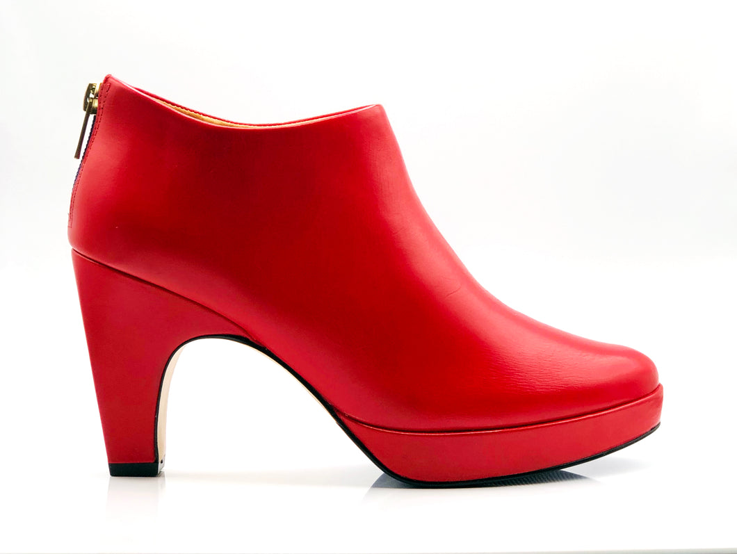 dr. Liza bootie 2.0 - CHILLI RED