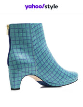 Load image into Gallery viewer, dr. Liza bootie - ANKARA green