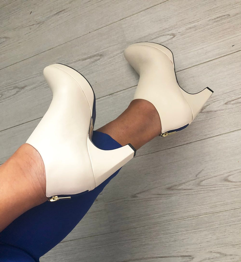 dr. Liza bootie 2.0 - IVORY