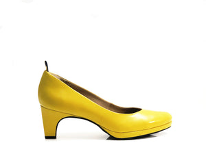 dr. Liza sneaker pump - SUNSHINE YELLOW