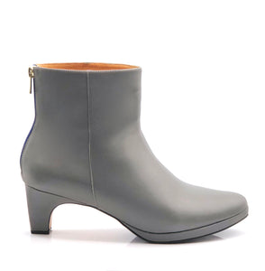 dr. Liza bootie - CHARCOAL