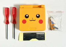 Load image into Gallery viewer, Replacement Housing for Nintendo GBA Game Boy Advance SP Shell Pikachu Yellow