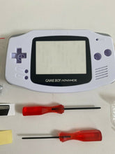 Load image into Gallery viewer, Replacement Housing for Nintendo GBA Game Boy Advance Shell Screen Arctic White