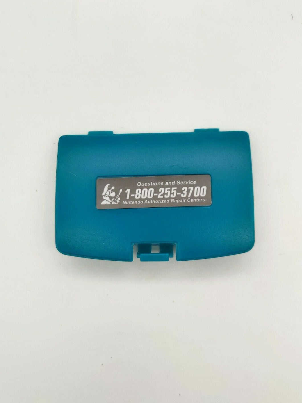 Teal Battery Cover Game Boy Color for Nintendo GBC Replacement Door Sticker New