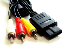Load image into Gallery viewer, 1-200 Lot For Nintendo 64 N64 Gamecube SNES AV Audio Video Cord Wire Cable A/V