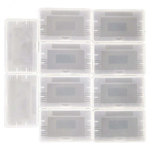 Load image into Gallery viewer, 5-100 Lot Clear Cartridge Cases Nintendo Game Boy Advance GBA Games Dust Covers