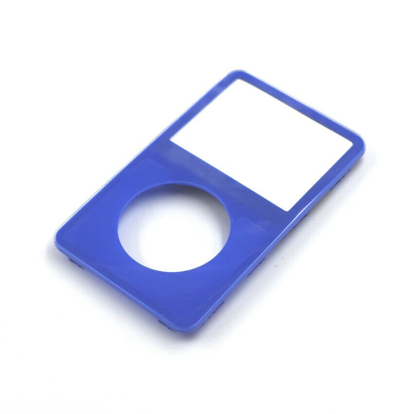 Blue Face Plate For Apple iPod Classic 5th Gen 5.5 Front New Video 30GB 60 80