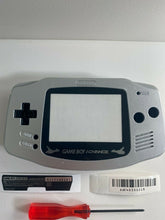 Load image into Gallery viewer, Replacement Housing Nintendo GBA Game Boy Advance Shell Silver Latias Pokemon