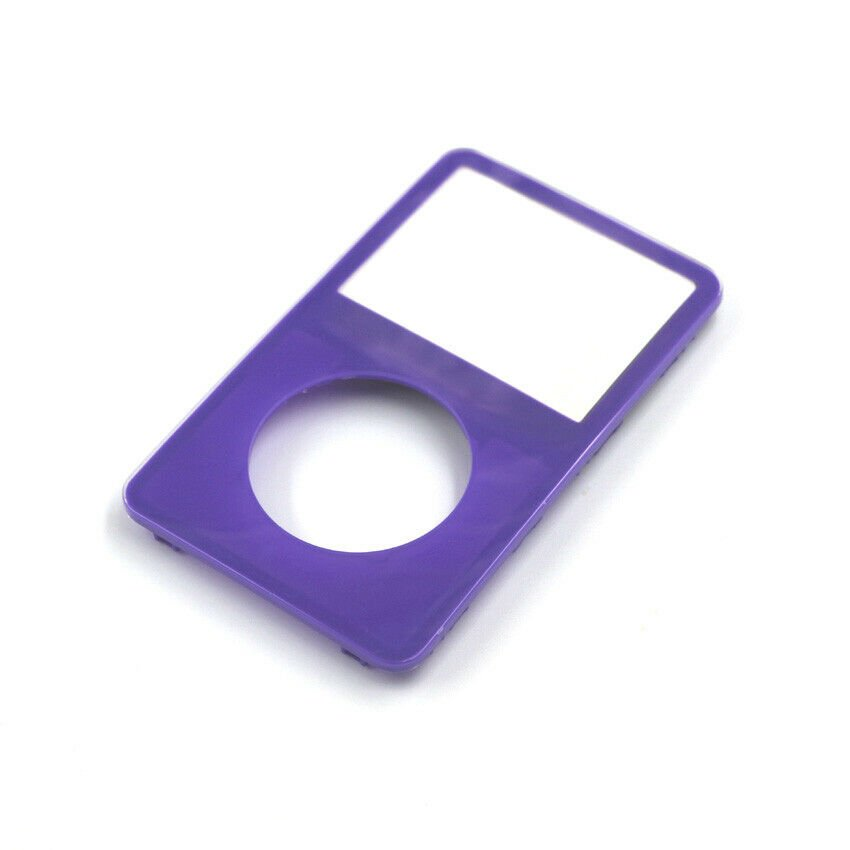 Purple Face Plate For Apple iPod Classic 5th Gen 5.5 Front New Video 30GB 60 80