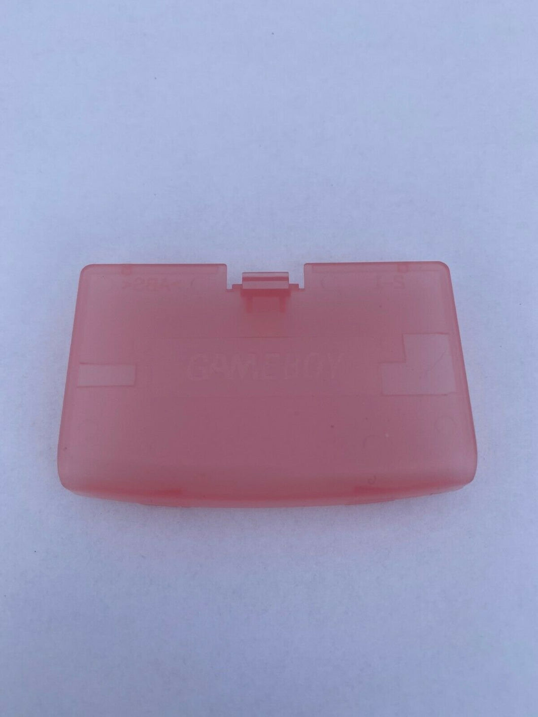 Clear Pink Battery Cover Game Boy Advance for Nintendo GBA Replacement Door