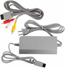 Load image into Gallery viewer, Wii Power Cord For Nintendo Wii Console Supply Adapter Wall AC Charger Cable