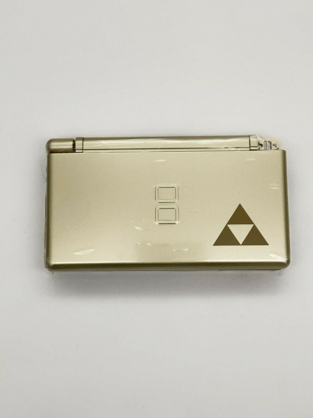 Replacement Housing for Nintendo DS Lite Glass Lens Shell Gold Zelda Triforce