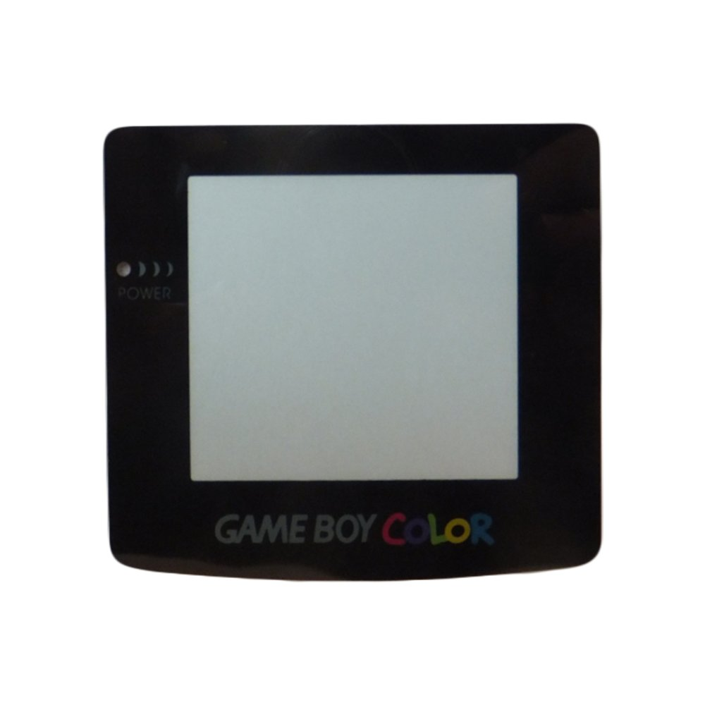 Nintendo Game Boy Color Replacement Glass Screen Self Stick Adhesive Logo GBC