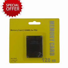 Load image into Gallery viewer, Playstation 2 Memory Card PS2 128MB New Pack for Sony Game Console System