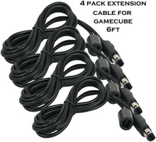 Load image into Gallery viewer, 1-10 Lot Extension Cable Cord for Nintendo Gamecube GC Wired Controller 6ft