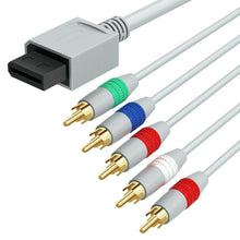 Load image into Gallery viewer, Wii Component Audio Video Cable HD AV Cable For Nintendo Wii And Wii U HDTV