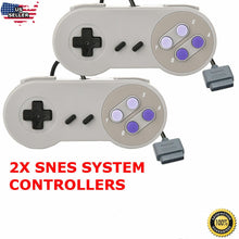 Load image into Gallery viewer, 2 New Super Nintendo SNES System Console Replacement  Controller 6FT for SNS-005